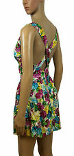 NEW! House of Fraser Rare London Multi Pink Floral Mini Party Dress 8 10 12 14