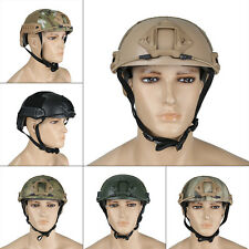 Army Military Police Swat Tactical Fast Carbon Helmet Paintball Airsoft Combat