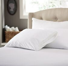 Bed Sheet Set 100%Egyptian Cotton 1000TC Deep Pocket Sheet White Solid All Size