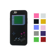 Hot Retro Game boy silicone case cover skin For iphone 6s + Free Gift
