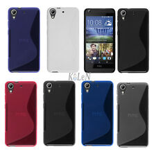S-Line Rubber Soft Gel TPU Silicone Case Skin Cover For HTC Mobile Phones