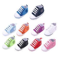 0-18M Baby Boy Girl Crib Shoes Infant Toddler Soft Sole Anti Slip Mesh Sneakers