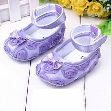 Infant Baby Princess Shoes Cotton Kids Girl Rose Flower Soft Shoes Toddler Shoes