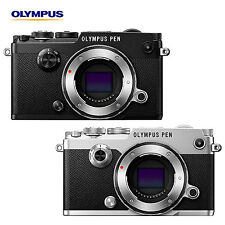 New! Olympus PEN-F 20MP 4/3 Live MOS Sensor Body Only Black / Silver