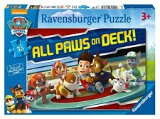 Paw Patrol Puzzle 35 Piece Jigsaw Pup Children Kids Shaped Ravensburger Age 3+