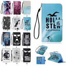 New Flip PU Leather Card Wallet Holder Protector Cover Case For Samsung Galaxy