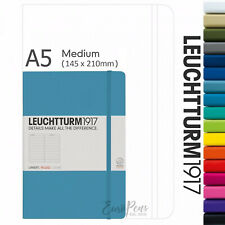 Leuchtturm1917 Classic Hardcover Medium A5 Notebook - All Colours & Paper Types