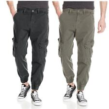 True Religion Brand Jeans Men Casual Cargo Runner Jogg Combat Pants Trousers