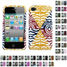 For Apple iPhone 4S/4 Design Hard Phone Protector Case Cover