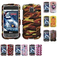 For LG Optimus S LS670 Design Hard Snap-On Case Cover