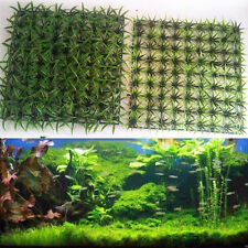 Artificial Water Aquatic Green Grass Plant Lawn Aquarium Fish Tank Landscape New