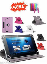 "Universal 360 Rotatable Leather Stand Case Cover Huawei MediaPad 7"" Youth 2 7"""
