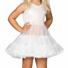 Little Girls White Bouffant Full-Slip Petticoat, (6month - 6x)