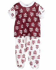Texas A&M Aggies Short Sleeve 2-Piece Pajama Set (9m - 16)