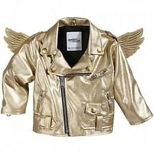 Adidas Originals Jeremy Scott Gold Wings Biker Baby Toddler Jacket Little Angels