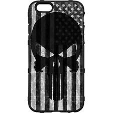 Magpul Field Case for iPhone SE,4,5,5s. Custom Black Punisher Subdued USA Flag