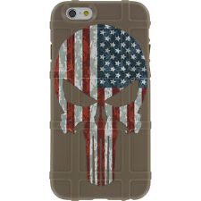 Magpul Field Case for iPhone SE,4,5,5s.  Custom FDE Punisher USA Flag
