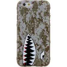 Magpul Field Case for iPhone SE,4,5,5s. FDE Marpat Desert Digi Camo, Shark Teeth