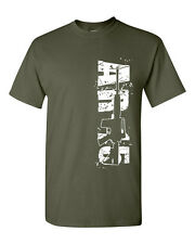 AR-15 Assault Rifle 2nd Second Amendment Gun Rights Guns  Men's Tee Shirt 1376