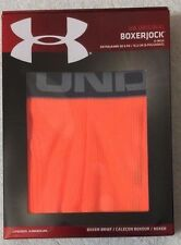 "Under Armour Original  6"" Boxerjock  Orange   (8938)"