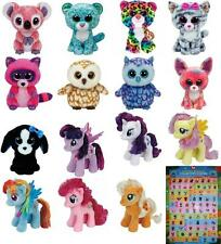 "Ty Beanie Boo 6"" or Ty Sparkle 8"" - Pls choose your favorite Boos Soft Toy BNWT"