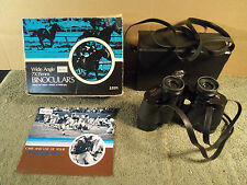 Vintage Sears Wide Angle 7X35mm Field Binoculars #32511 Org. Box, Case & Booklet