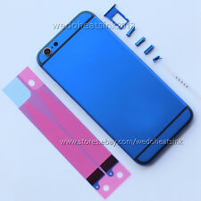 Blue + Black Stripes Replace Back Housing Cover for iPhone 6/6s iPhone 6/6s Plus