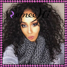 """Best Price human hair wigs full/front lace wig 12""""-22"""" baby hairs deep curly"""
