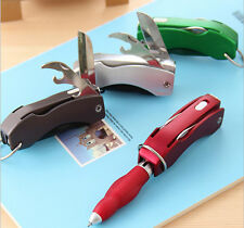 Creative stationery Ball Point Foldable with LED Gift for students Kids