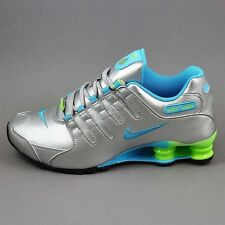 pink and blue nike shox