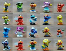 Playskool Sesame Street ERNIE Cookie Monster Elmo Big Bird Murray PVC FIGURE
