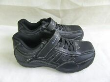 New! Boys Skecher Slip On Casual Shoes Grambler- Wallace Style 96313L Black*131H