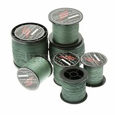 Spectra Moss Green 100-1000M 10-80LB Super Strong Dyneema Braided Fishing Line