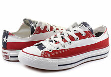 New Converse Chuck Taylor All Star Ox White/Navy/Red M3494 Low Shoes Sneakers