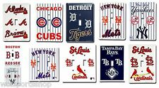 MLB Official Licensed Single & Double Light Switch Cover - Pick your Teams