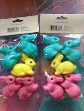 EASTER Glitter foam BUNNIES eggs crafts, wreaths, decorations, baskets