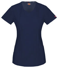 Dickies Scrub Short Sleeve Top 85954A NVWZ Navy Free Shipping