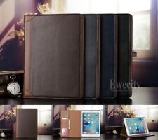 Folio Wallet Leather Stand Smart Auto Sleep/Wake Case Cover For Apple iPad