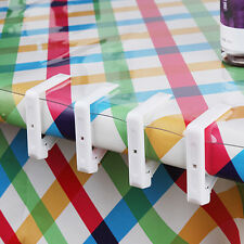 Plastic Table Cover Cloth Desk Skirt Clip Wedding Party Picnic Clamp Holder CN