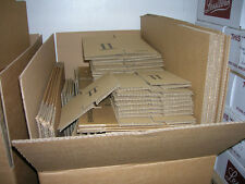 50 mixed SMALL CARDBOARD BOXES, PACKAGING POSTAL  BUNDLE OF BOXES   JOBLOTS