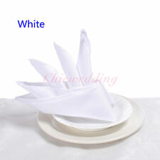 """150 Pcs 20"""" Inch Polyester Napkin Wedding Party Table Decorations Supply"""