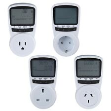 New TS-1500 Plug-in Electricity Meter Electronic Energy Meter LCD Energy Monitor