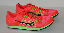 NIKE ZOOM VICTORY WAFFLE 2 Spikeless Track Running Cleats Shoes Red SIZE 11.5
