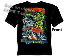 Ratfink T Shirts Camaro T Shirts Chevrolet Clothing Big Daddy Tee 1967 1968 1969