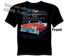 Chevy Shirt Chevrolet Clothing Classic Car Shirt 1955 55 Bel Air Convertible Tee