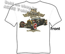 Hot Rod Apparel Rat Rod 27 Ford T Shirt 1927 Model T Roadster Sz M L XL 2XL 3XL