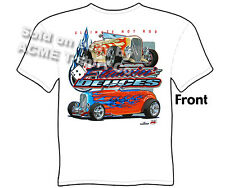 Hot Rod Shirts 1932 Ford T Shirts 32 Roadster Deuce Street Rod Sz M L XL 2XL 3XL