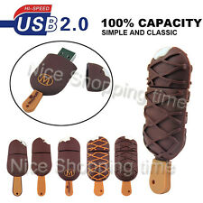 32GB 16GB 8GB Cute Ice cream model USB 2.0 Memory Stick Flash pen Drive U Disk