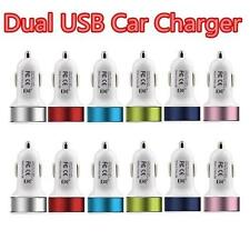 Dual Port Usb Car Charger Free Screen Protector + Cloth for iPhone 6s/6s+ NEW