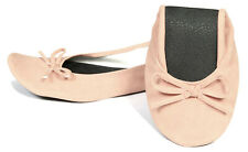 New Foldable / Rollable Peach Ballet flats with bag. S,M,L 5,6,7,8,9,10 US/AU
